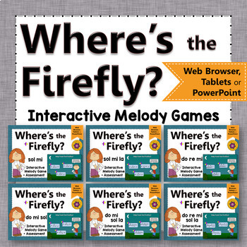 Where's the Firefly? Melody BUNDLE (Interactive Games and