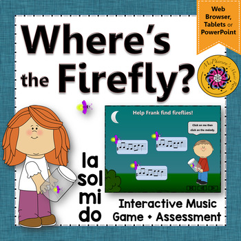 Where's the Firefly? Melody Do Mi Sol La (Interactive Game