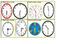 Which Analog Clock is Wrong Task Cards (16 Cards)