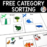 Free Download Sorting Categories