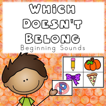 Which Doesn't Belong- Beginning Sounds