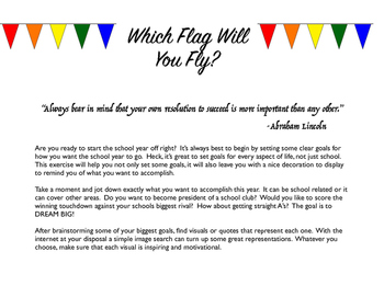 Which Flag Will You Fly?