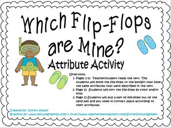 Which Flip-Flops are Mine? - Attribute Activity for Promet