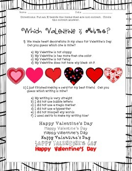 Which Valentine?