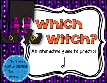 Which Witch? A Halloween-Themed Interactive Aural Game {Ha