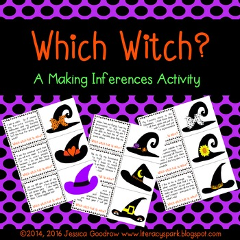 Which Witch?  {A Making Inferences Activity}