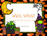 Homophones! Which Witch game and printables!