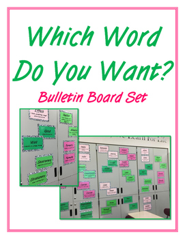 Which Word Do You Want? Confusing Word Set Bulletin Board
