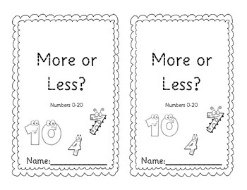 Which is More? Which is Less?