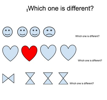 Which one is different? Workshop Test