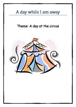 While I am away Circus theme