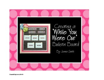 """""""While You Were Out"""" bulletin board"""
