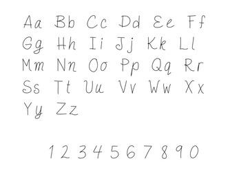 Whimsical Font!