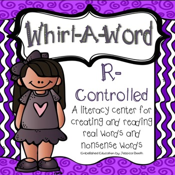 R-Controlled Literacy Center