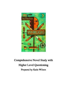 Whirligig Novel Study - Complete Guide