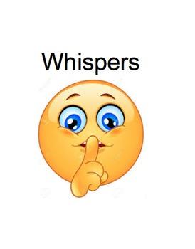 Whispering Social Story