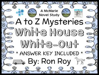 White House White-Out : A to Z Mysteries (Ron Roy) Novel S