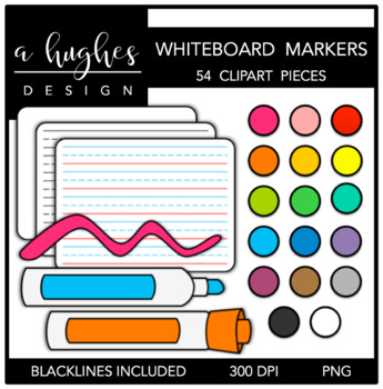 Whiteboard Markers {Graphics for Commercial Use}