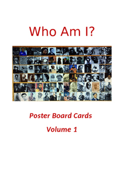 Who Am I? African American Poster Board Cards 5 x 7