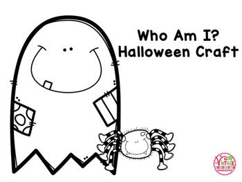 Who Am I? Halloween Craft