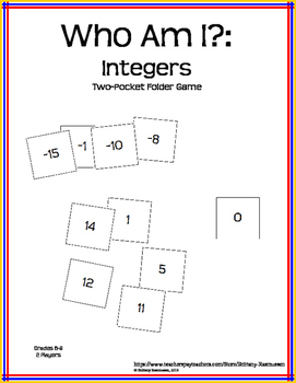 Who Am I? - Integers