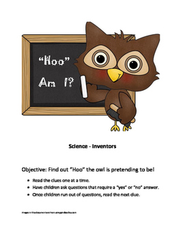 Who Am I? Science Inventors