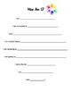 Who Am I Worksheets