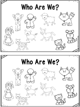 Who Are We?  (A gingerbread man emergent reader)