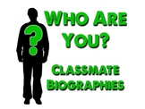 """Who Are You?"" - Classmate Wikipedia Biographies"