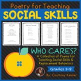 Who Cares? Poetry for Teaching Social Skills and Replaceme