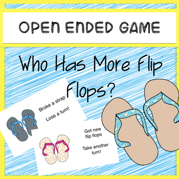 Who Has More Flip-Flops? open ended reinforcement game