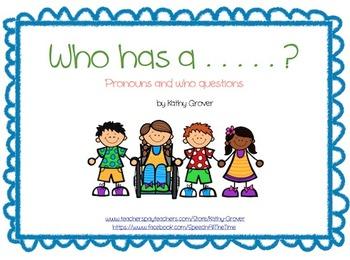 Who Has a . . .?
