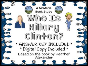 Who Is Hillary Clinton? (Heather Alexander) Book Study / C