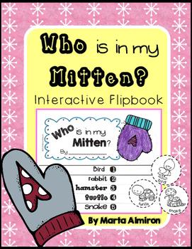 Who Is In My Mitten? Interactive Flipbook