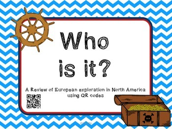 Who Is It?  European exploration in North America QR codes