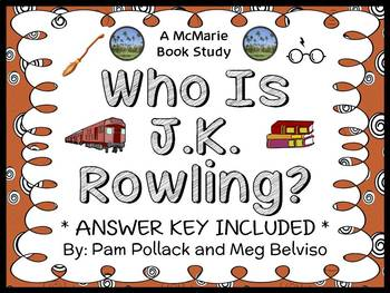 Who Is J. K. Rowling? (Pollack and Belviso) Book Study / C
