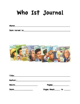 Who Is Journal