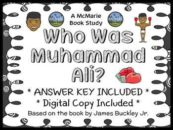 Who Is Muhammad Ali? (James Buckley Jr.) Book Study / Comp