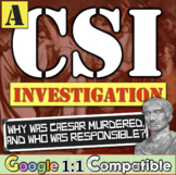 Julius Caesar Assassination: A CSI Investigation on Julius