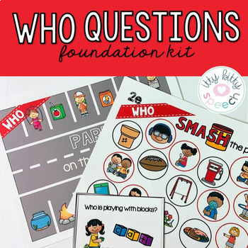 Who Questions - Foundations Kit