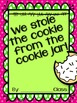 Who Stole the Cookie from the Cookie Jar: {Editable} Name