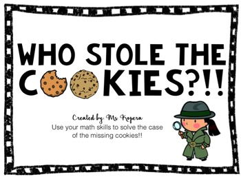 Who Stole the Cookies??!