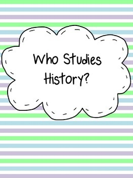 Who Studies History Assignment with Foldables for Interact