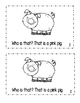 """Interactive Sight Word Reader- """"WHO Is THAT on the Farm?"""""""
