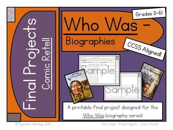 Who Was Biography Series Final Projects - COMIC RETELL Fil