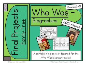 Who Was Biography Series Final Projects - FAMILY TREE Fill