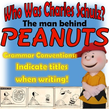 Who Was Charles Schulz?: Use Reference Materials and Indic