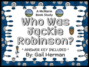 Who Was Jackie Robinson? (Gail Herman) Book Study / Compre