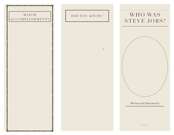 Who Was Steve Jobs Brochure