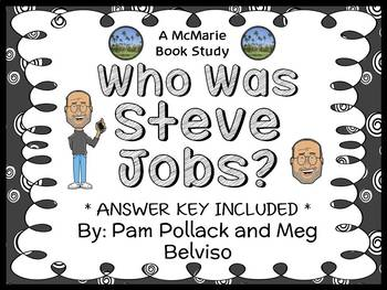 Who Was Steve Jobs? (Pollack and Belviso) Book Study / Com